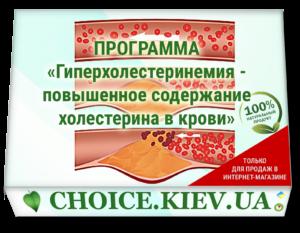 ПРОГРАММА «Гиперхолестеринемия - повышенное содержание холестерина в крови»