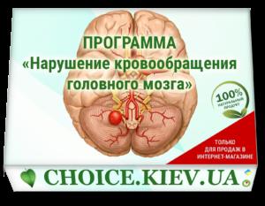 ПРОГРАММА «Нарушение кровообращения головного мозга»