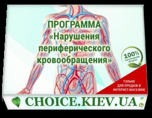 ПРОГРАММА «Нарушения периферического кровообращения»
