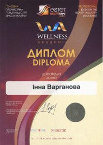 диплом wellness 2008
