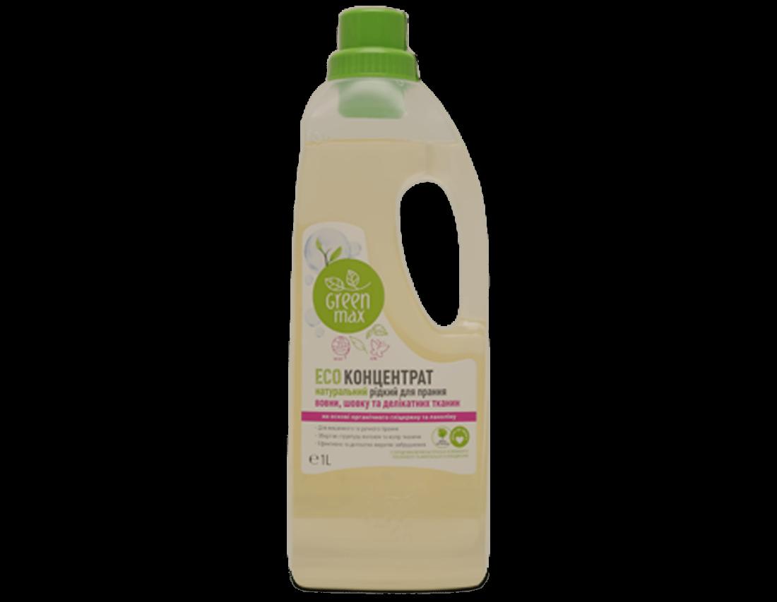 ECOконцентрат жидкий натуральный для стирки шерсти, шелка и деликатных тканей