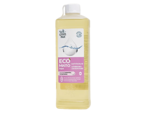 Эко мыло жидкое оливково-ланолиновое, 500 мл